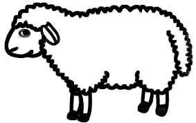 La symbolique de l'agneau (ou mouton, ou brebis).