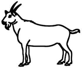 La symbolique du bouc.