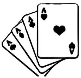 La symbolique des cartes à jouer.