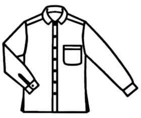 La symbolique de la chemise.