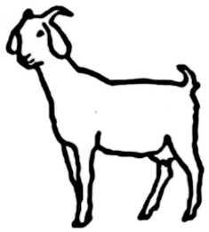 La symbolique de la chèvre.
