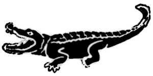 La symbolique du crocodile.