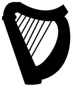 La symbolique de la harpe.