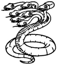 La symbolique de l'hydre.