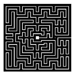 La symbolique du labyrinthe.