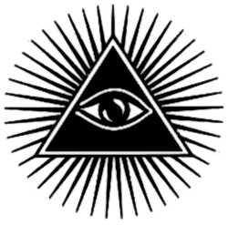 La symbolique de l'œil divin.