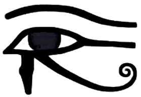 """La symbolique de l'oeil """"oudjat""""."""