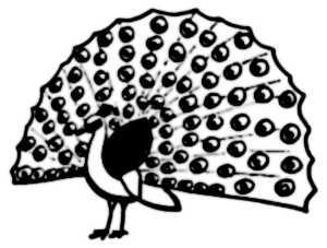 La symbolique du paon.