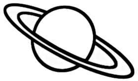La symbolique des planètes.
