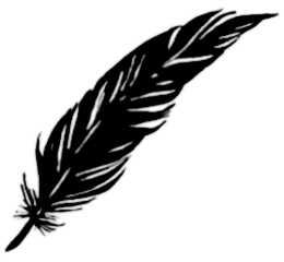 La symbolique de la plume.