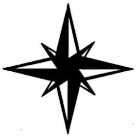 La symbolique des points cardinaux.