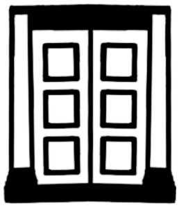La symbolique de la porte.