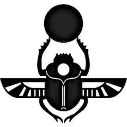 La symbolique du scarabée.