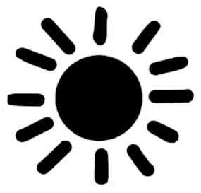 La symbolique du soleil.