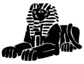 La symbolique du sphinx.