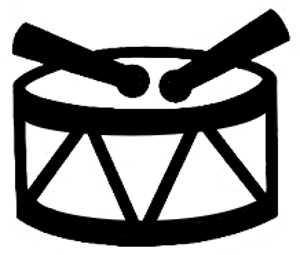 La symbolique du tambour.