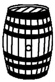 La symbolique du tonneau.