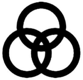 La symbolique de la Trinité.